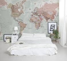 Wallpaper Design Ideas For Bedrooms Best 25 World Map Wallpaper Ideas On Pinterest World Map Wall