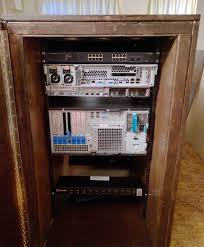 cabinet for home theater equipment diy server rack plans
