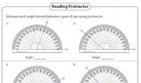 4th Grade Math Geometry Worksheets Angles Printable Worksheets 4th And 7th Grade The Teachers