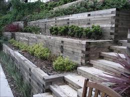Landscaping Ideas For A Sloped Backyard 25 Unique Steep Hillside Landscaping Ideas On Pinterest