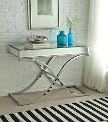Mirrored Top Coffee Table Mirrored Sofa Table Makushina