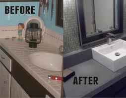 Cheap Bathroom Countertop Ideas Interior Design For Poured Concrete Countertops Bathroom Best
