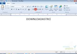 Count Words In A Document In Wordpad Microsoft Wordpad Version 2017 Free