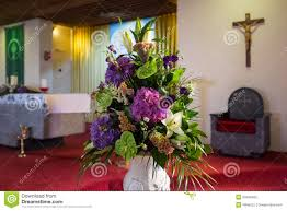 wedding flowers church wedding flowers in church stock photo image 50490455