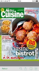 recettes maxi cuisine télécharger maxi cuisine le mensuel qui propose des recettes facile