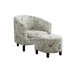 Comfy Chairs For Bedrooms by Ottomans Club Chair And Ottoman Chair And A Half Recliner Comfy