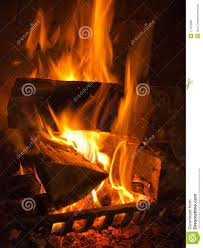 fire in the fireplace stock photo image of heat fireguard 17107282