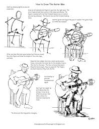 how to draw worksheets for the young artist how to draw a man