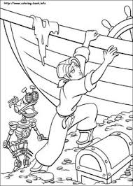 treasure planet coloring coloring pages epicness