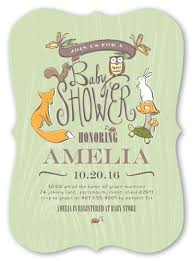 woodland baby shower invitations woodland party boy 5x7 greeting card baby shower invitations
