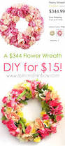 Spring Colors Make A 344 Flower Wreath For 15 A Piece Of Rainbow