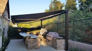 Retractable Awnings Boston Retractable Awning Over A Bbq Island The Awning Company Yelp