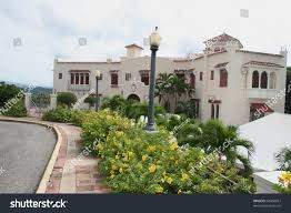 historic spanish revival mansion ponce puerto stock photo 64450867
