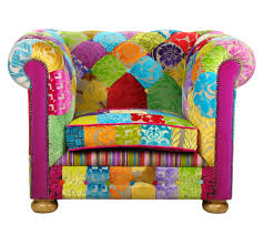 Chesterfield Patchwork Sofa Chesterfield Patchwork Armchair