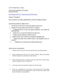 acc 557 final exam by carolineblanchard issuu