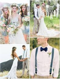 boheme chic mariage un mariage tendance de style bohème chic
