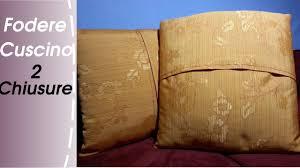 cucire un cuscino come cucire una fodera per cuscino due tipi di chiusura