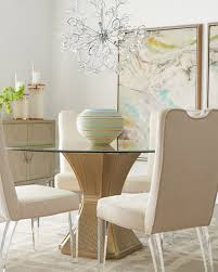 Silver Dining Table And Chairs Evie Silver Dining Table