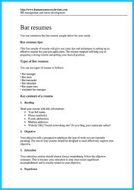Job Description Of Bartender For Resume by 94 Example Of Bartender Resume 100 Resume Tipes