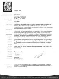 Sample Letter For Fundraising Donations by Corporate Testimonials Pro Motion Entertainment