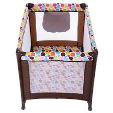 Baby Folding Bed Classic Pack Play Playard Baby Bassinet Travel Portable Bed