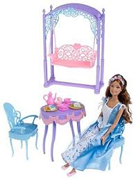 amazon barbie princess pauper erika tea party doll