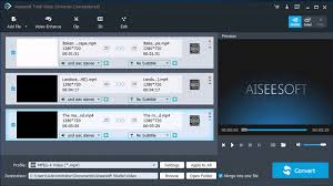 total video converter aiseesoft how to put video clips together to make one video wonderfulshare