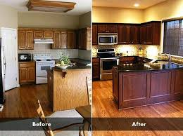 How To Paint Kitchen Cabinets Without Sanding Repainting Kitchen Cabinets Without Sanding Refinishing Oak