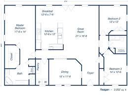steel building floor plans