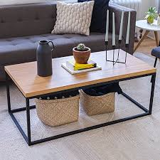 space saving end table wood coffee table modern industrial space saving sofa couch