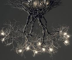 tree chandelier root chandelier