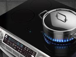 Compact Induction Cooktop Samsung Ne58h9970ws Slide In Induction Chef Collection Range With