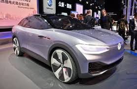 volkswagen electric concept volkswagen u0027s electric i d crozz will storm u s roads in 2020