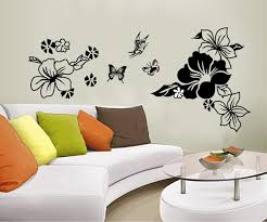 home removable recycling wall sticker decals butterfly and flowers home removable recycling wall sticker decals butterfly and flowers