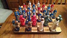 Ceramic Chess Set Chess Molds Ebay