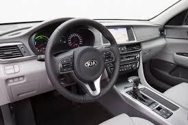 Optima Kia Interior Kia Unveils Optima Plug In Hybrid The Next Step In Its U0027green