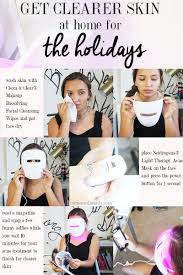 neutrogena light therapy acne mask before and after get clearer skin for the holidays with light therapy acne mask
