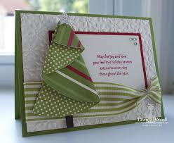 handmade fun folded christmas tree card and how to make it