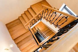 Wood Interior Handrails 25 Custom Wood Stairs And Railings Photo Gallery