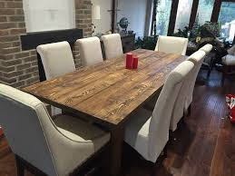 rustic dining room sets eye catching solid rustic dining room table 8 person chairs for