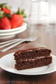fat free chocolate cake with fudgy chocolate frosting amy u0027s
