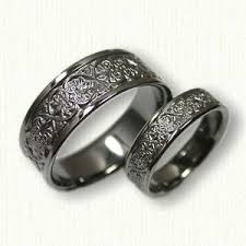 76 best floral designed rings images on wedding bands