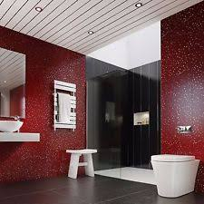 Plastic Wall Panels For Bathrooms by Pvc With Glitter Wallpaper Rolls U0026 Sheets Ebay