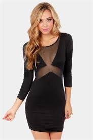 cut out dresses black dress sleeve dress cutout dress