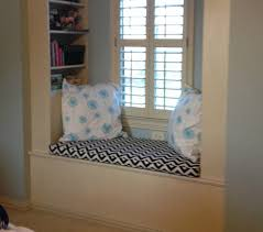 interior stunning design of custom window seat cushions custom