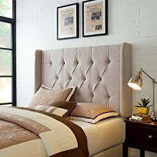 samuel lawrence furniture tan king california king headboard ds
