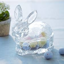 easter bunny candy easter bunny candy dish williams sonoma