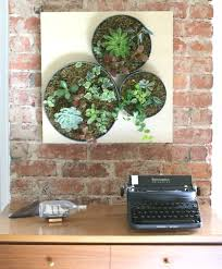 Make A Brick Succulent Planter - 16 diy wall planters teach you how to greenify your home