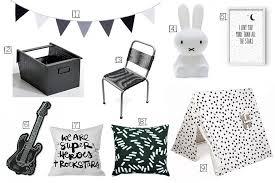 chambre enfant noir et blanc chambre fille noir et blanc une chambre duenfant black u white with
