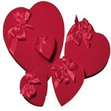 chocolate heart box buy s day s day heart box heart box filled